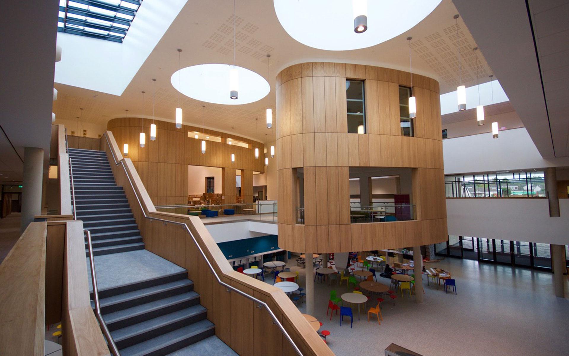 Greenfaulds High School Rybka Low Energy Building