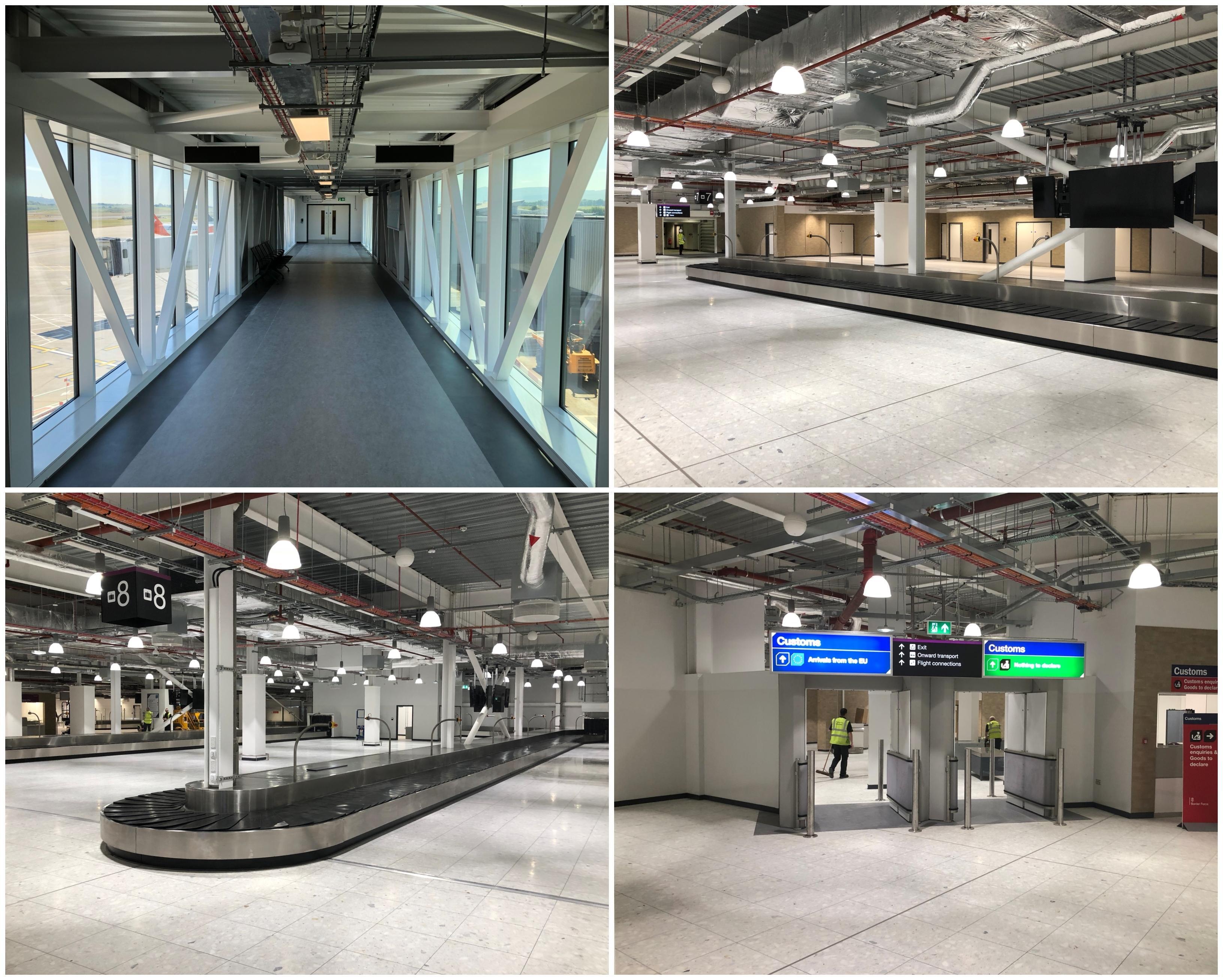 Edinburgh Airport Terminal Expansion Rybka Low Energy